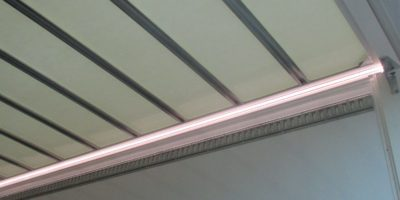 LED strip vierkant